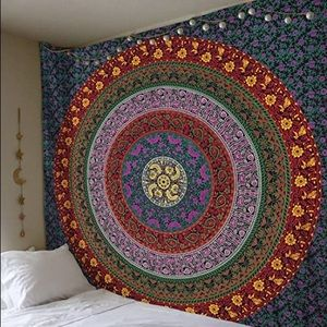 Large Multicolored Tapestry